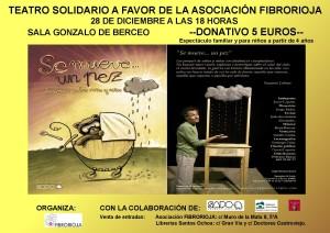 Cartel teatro solidario